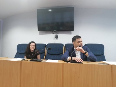 Two public discussions, about the municipal hospital and Maritza Park, were held in Grosseto Hall